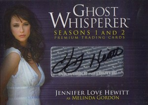 2009 Ghost Whisperer Seasons 1 and 2 Autographs GA1 Jennifer Love Hewitt