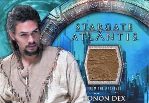 2009 Stargate Heroes Costume Cards Ronan Dex