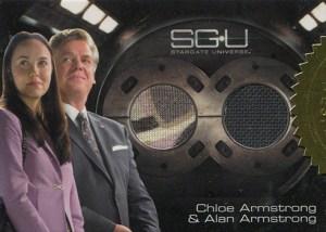 2010 Stargate Universe Season 1 Dual Costume Card