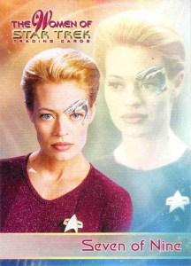 2010 Women of Star Trek Promo Card P1
