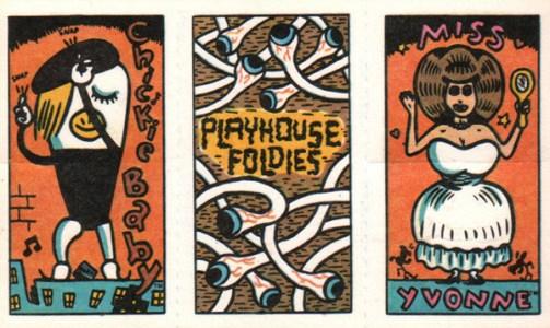 1988 Pee Wees Playhouse Foldies