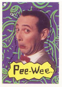 1988 Pee Wees Playhouse Stickers