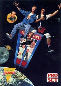 1991 Pro Set Bill and Ted Promo Card