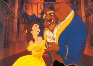 1992 Beauty and the Beast Promo Card 53