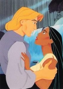 1995 Pocahontas Promo Card S1