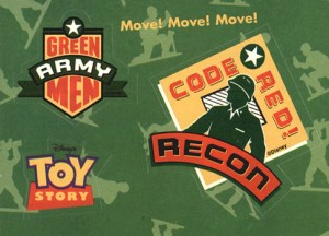 1995 Toy Story Badge Stickers
