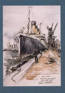 1998 Titanic Binder Cards