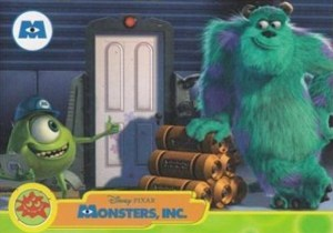 2001 Monsters Inc Promo Card P1