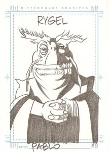 2002 Farscape Season 3 SketchaFEX
