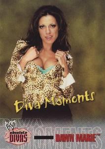 2002 Fleer WWE Absolute Divas Base Diva Moments Dawn Marie