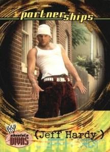 2002 Fleer WWE Absolute Divas Base Partnerships Jeff Hardy