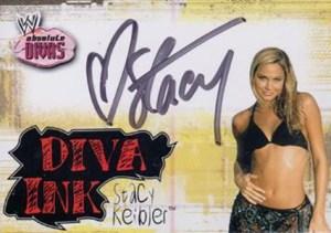 2002 Fleer WWE Absolute Divas Diva Ink Stacy Keibler