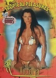 2002 Fleer WWE Absolute Divas Tropical Pleasures