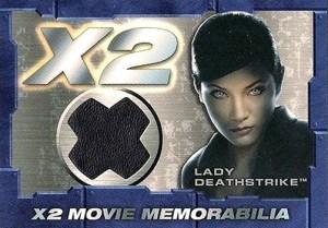 2003 X-Men 2 Movie Memorabilia Lady Deathstrike