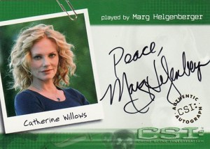 2004 CSI Series 2 Autographs A22 Marg Heigenberger