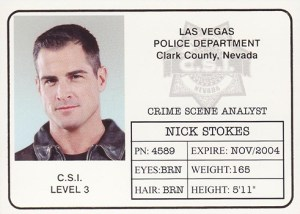 2004 CSI Series 2 ID Badge