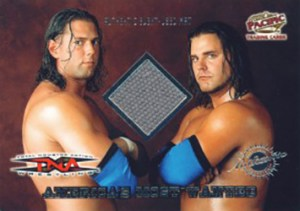 2004 Pacific TNA Limited Edition Event-Used Americas Most Wanted