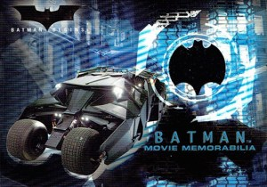 2005 Batman Begins Movie Memorabilia Batmobile Tire