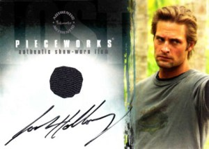 2005 LOST Season 1 Autographed Pieceworks PWA2 Josh Holloway