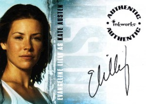 2005 LOST Season 1 Autographs A1 Evangeline Lilly