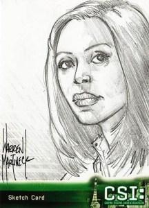 2006 CSI Series 3 Sketch Card