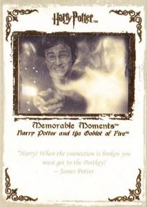 2006 Harry Potter Memorable Moments Base