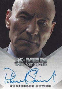 2006 X-Men The Last Stand Autographs Patrick Stewart
