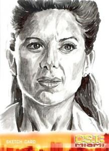 2007 CSI Miami Series 2 Sketch Card