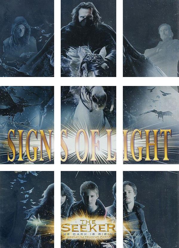 2007 Inkworks Seeker- The Dark Is Rising Signs of Light