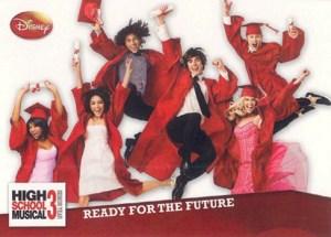 2008 High School Musical 3 Promo Card P1