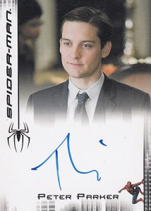 2008 Spider-Man 3 Expansion Tobey Maguire Autograph