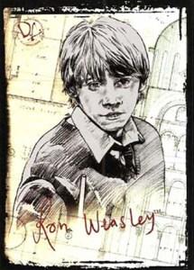 2009 Harry Potter Memorable Moments Series 2 Foil Puzzle