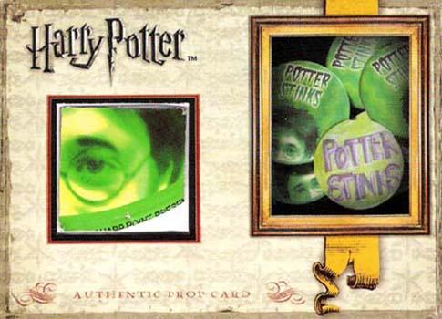 2009 Harry Potter SDCC Prop Potter Stinks Button