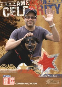 2009 Topps American Heritage Celebrity Relic