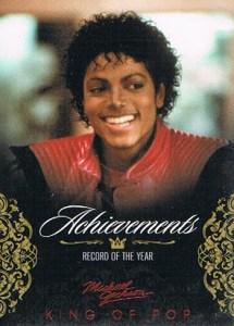 2011 Michael Jackson Base Achievements