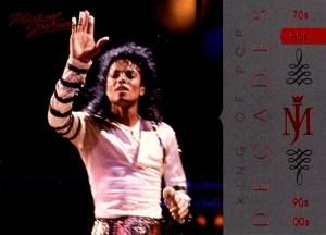 2011 Michael Jackson Base Decades