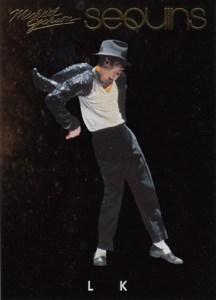 2011 Panini Michael Jackson Sequins