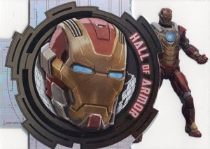 2013 Iron Man 3 Hall of Armor