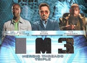2013 Iron Man 3 Heroic Threads Triple