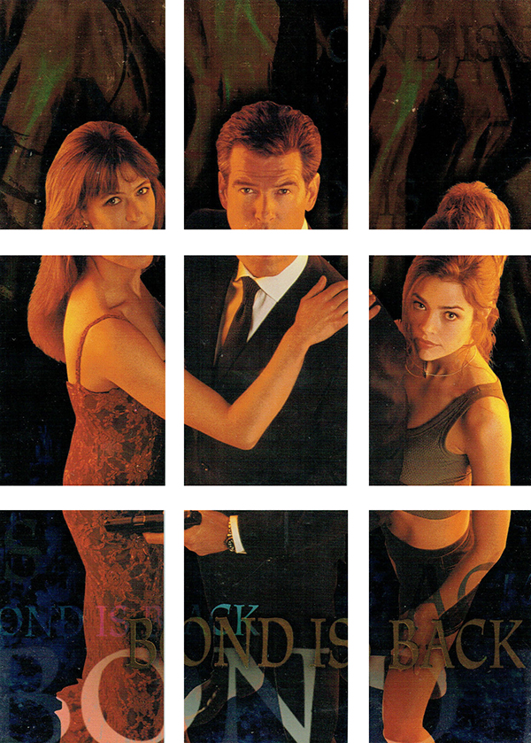 1999 World Is Not Enough Bond Is Back