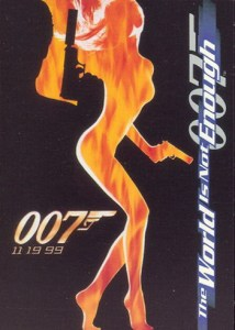 1999 World Is Not Enough Promo Card P1