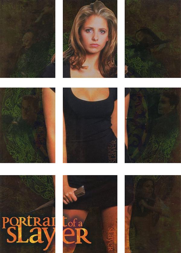2000 Inkworks Buffy the Vampire Slayer Reflections Portrait of a Slayer