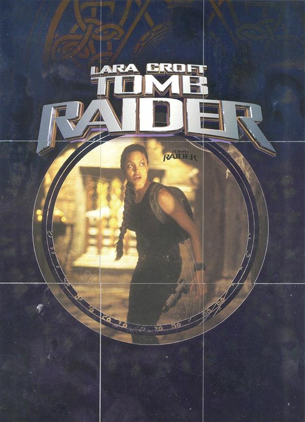 2001 Lara Croft Tomb Raider Lara Croft Foil Puzzle
