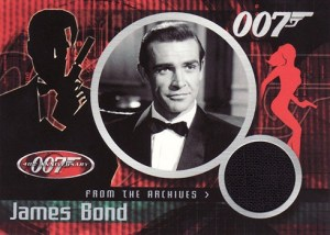 2002 James Bond 40th Anniversary From the Archives Costume Card CC1