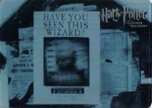 2004 Artbox Harry Potter and the Prisoner of Azkaban Case Topper