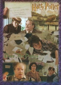 2005 Harry Potter and the Sorcerers Stone Foil