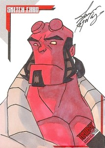 2007 Hellboy Sword of Storms Sketch Card