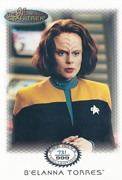 2000 Women of Star Trek In Motion Archive Collection UK