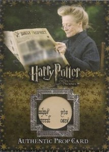 2007 Artbox Harry Potter and the Order of the Phoenix P3