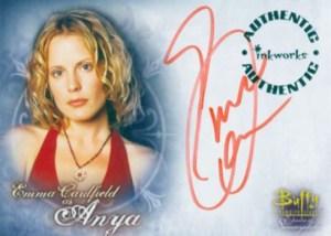 2004 Buffy and the Women of Sunnydale Autographs A1 Emma Caulfield